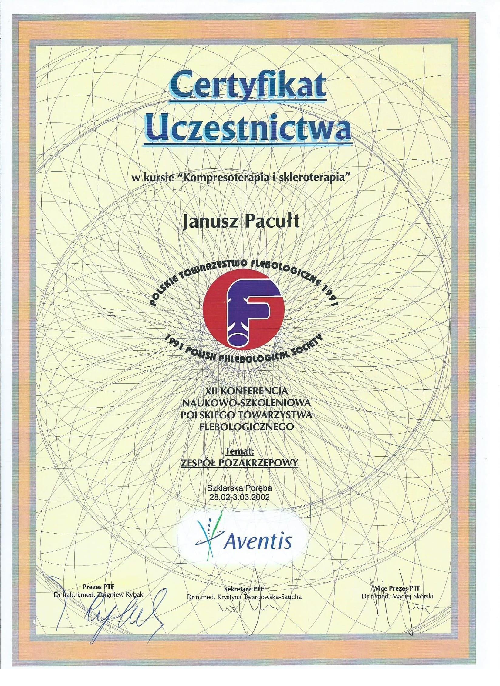 2002 PTF Skleroterapia