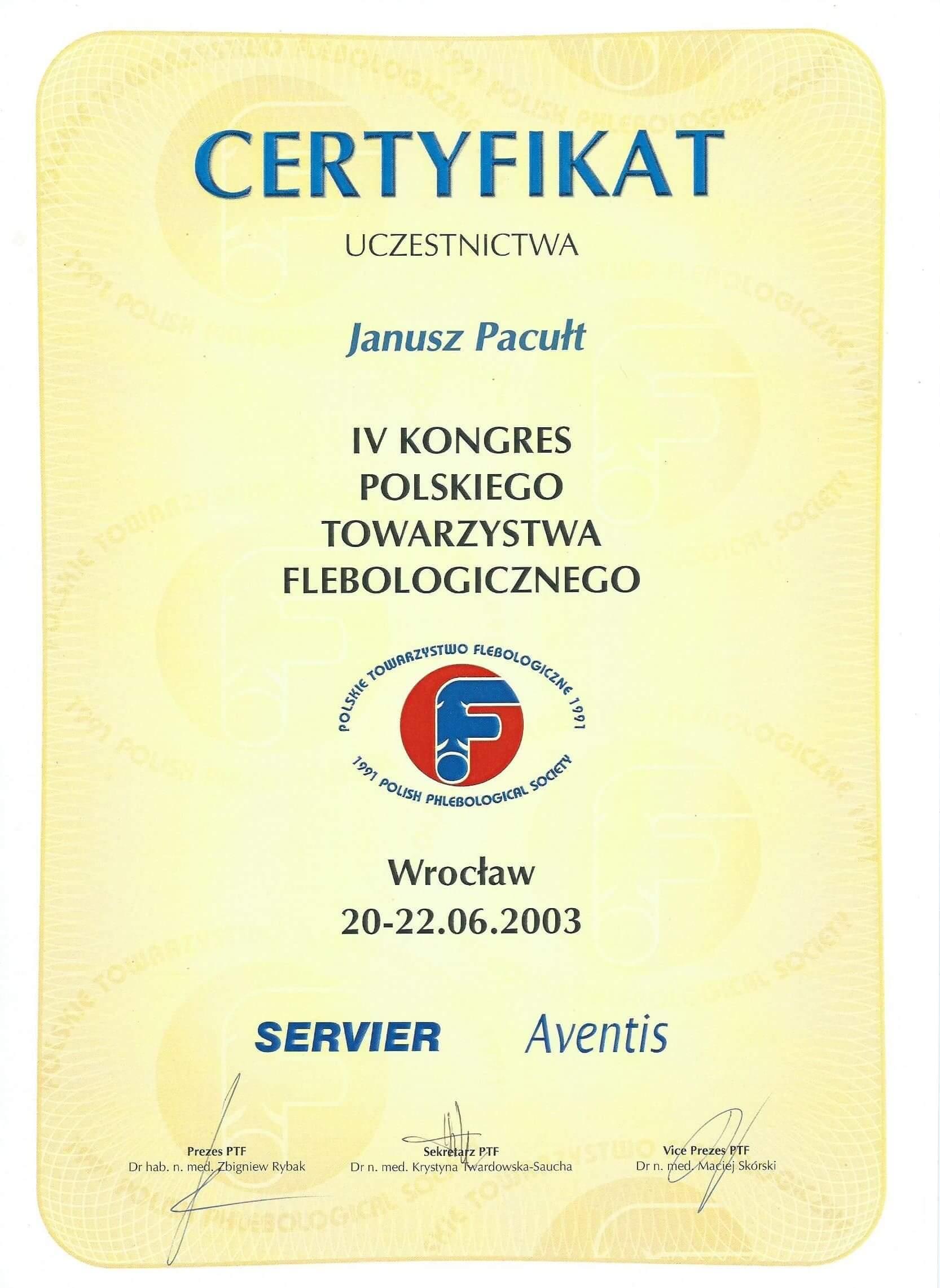 2003 PTF Wrocław