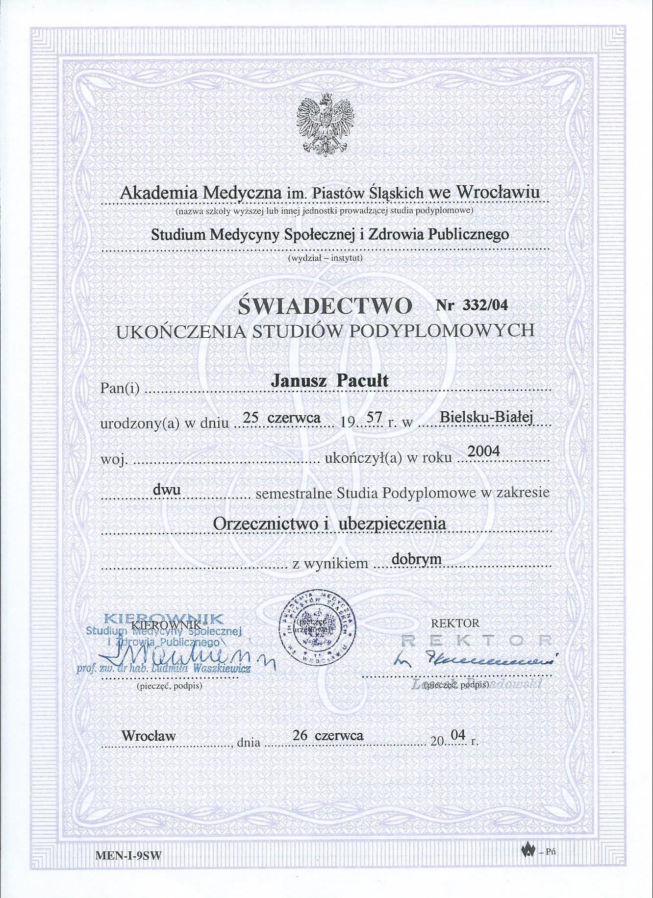 2004 Studia Wrocław Orzecznictwo