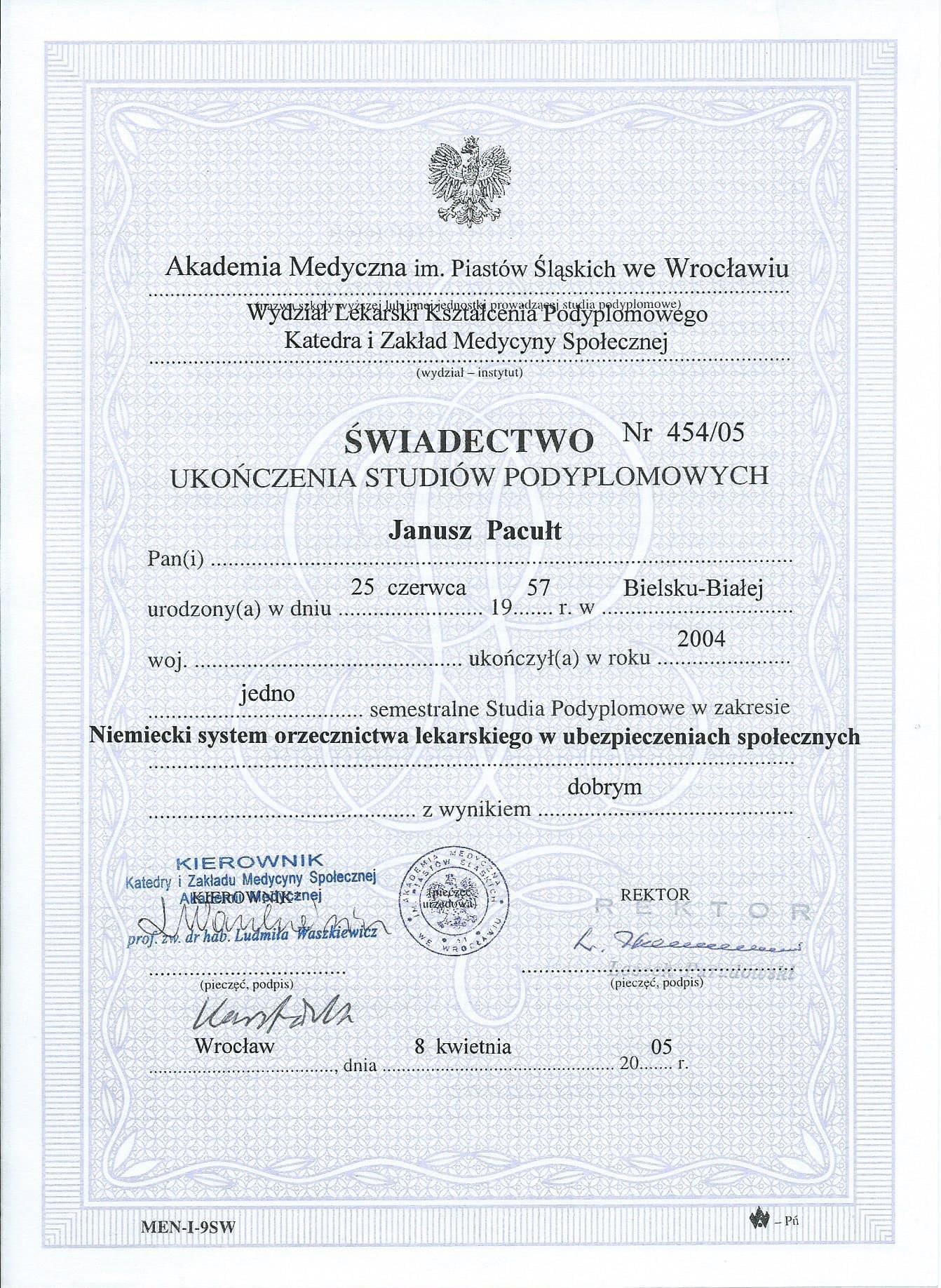 2005 Studia Berlin Orzecznictwo