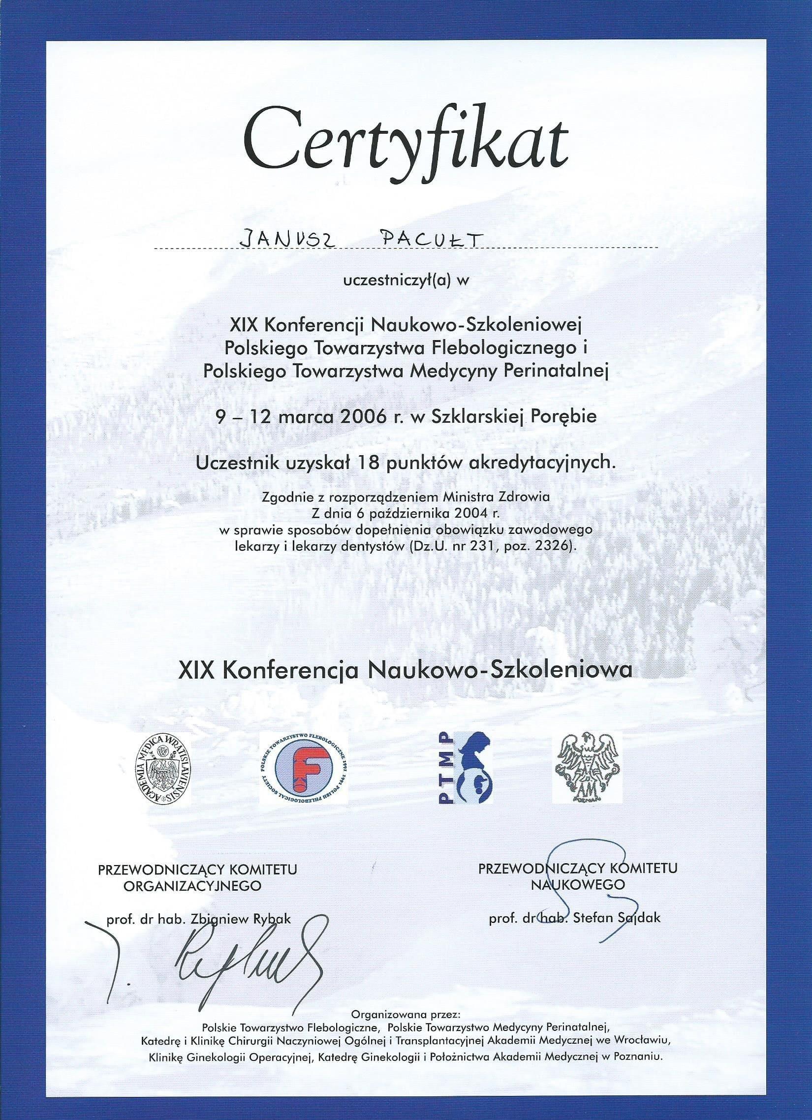 2006 PTF Szklarska